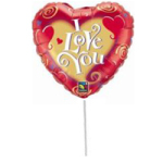 Small I Love You Balloon