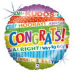 Large Congratulations Balloon