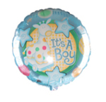 Medium Baby Boy Balloon