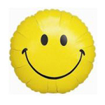 Medium Smiley Balloon